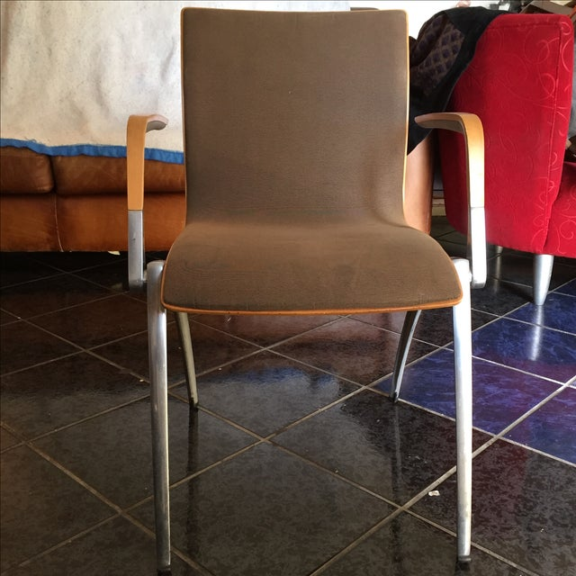 Davis Furniture Industries Brown Chairs - A Pair - Image 6 of 11