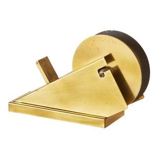 Vintage Brass Tape Dispenser For Sale