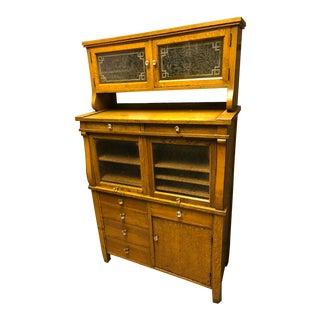 1940s Mid-Century Modern Dental Cabinet For Sale