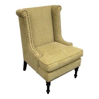 Custom Upholstered Kravet Fabric Arm Chair