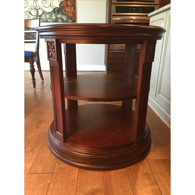 Ethan Allen Library Table - Image 2 of 4