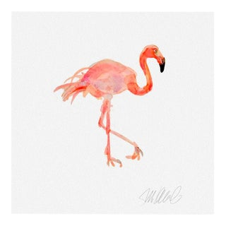 Giclee Print Of Flamingo For Sale