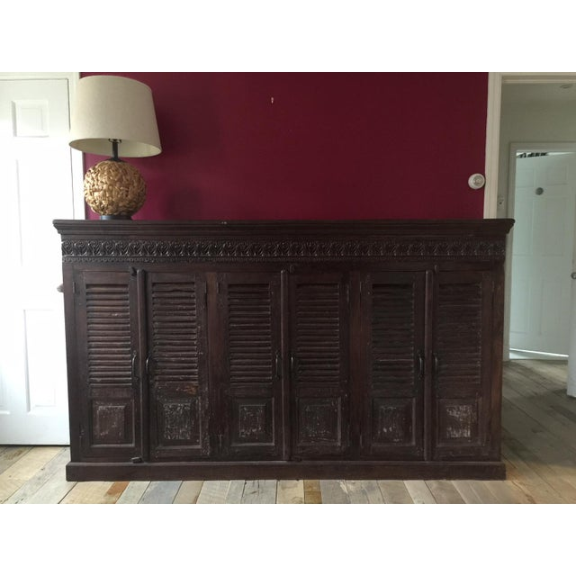 Antique Indian Cabinet For Sale In New York - Image 6 of 7