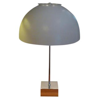1960s Mid-Century Modern Paul Mayen for Habitat Large Domed Table Lamp For Sale