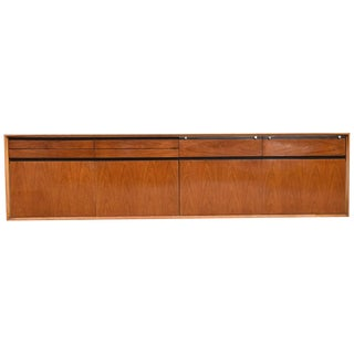 "De Coene ""Madison"" Wall-Mounted Sideboard Designed by Fred Sandra, 1958 For Sale"