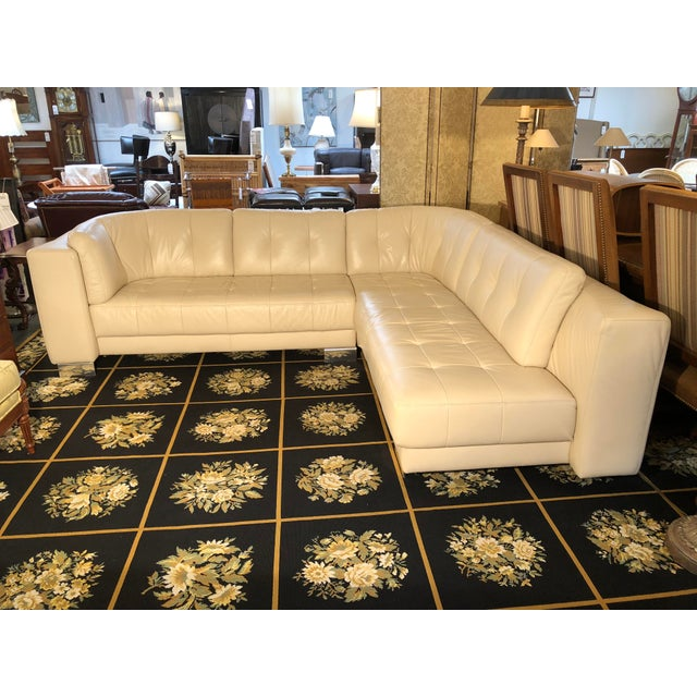 Contemporary W. Schillig Carousel Sectional For Sale - Image 3 of 12