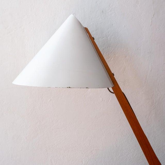 Antique White 1950s Hans-Agne Jakobsson Desk Lamp For Sale - Image 8 of 13