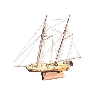 Wood Model Boat