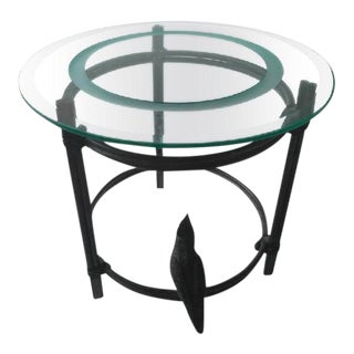 Diego Giacometti Inspired Bronze Cockatoo Table For Sale