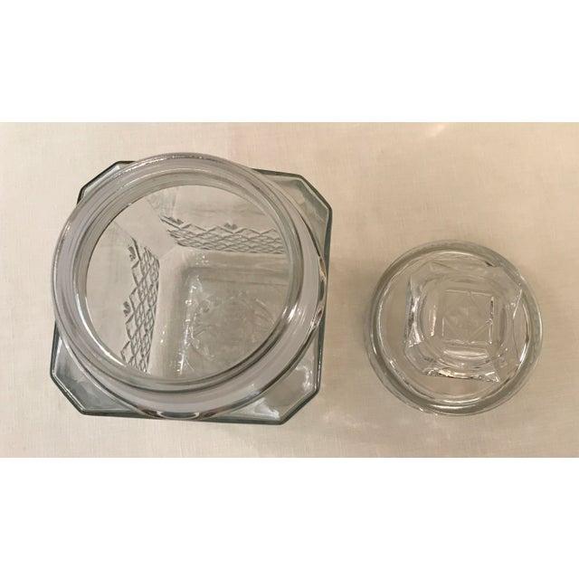 Vintage Square Canister Jar - Image 8 of 11