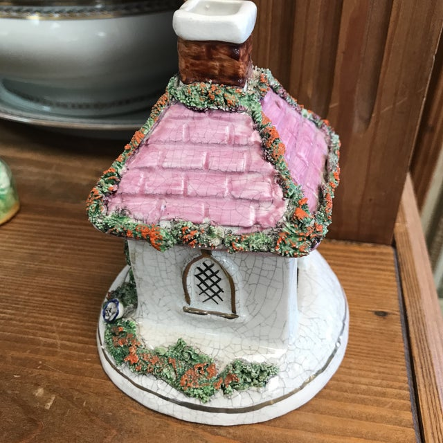 Decorative small storage mini cottage
