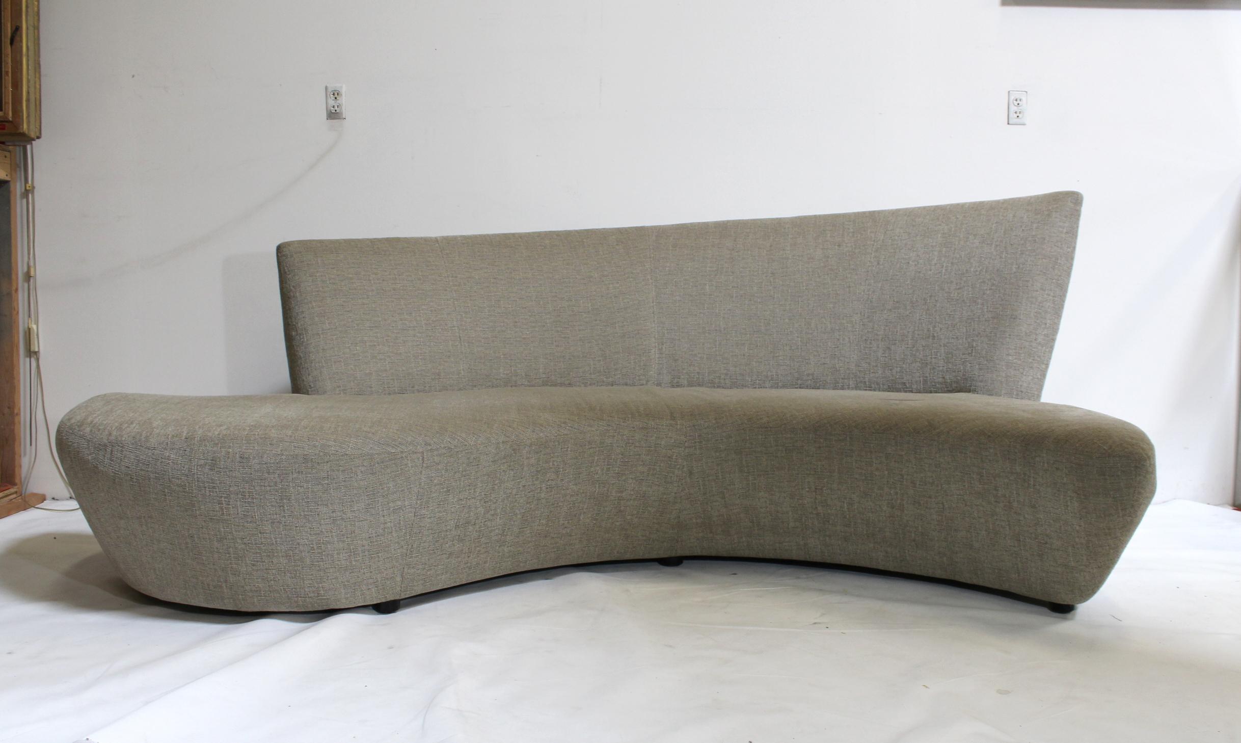 Vladimir Kagan For Weiman Sculptural Bilbao Sofa   Image 4 Of 10
