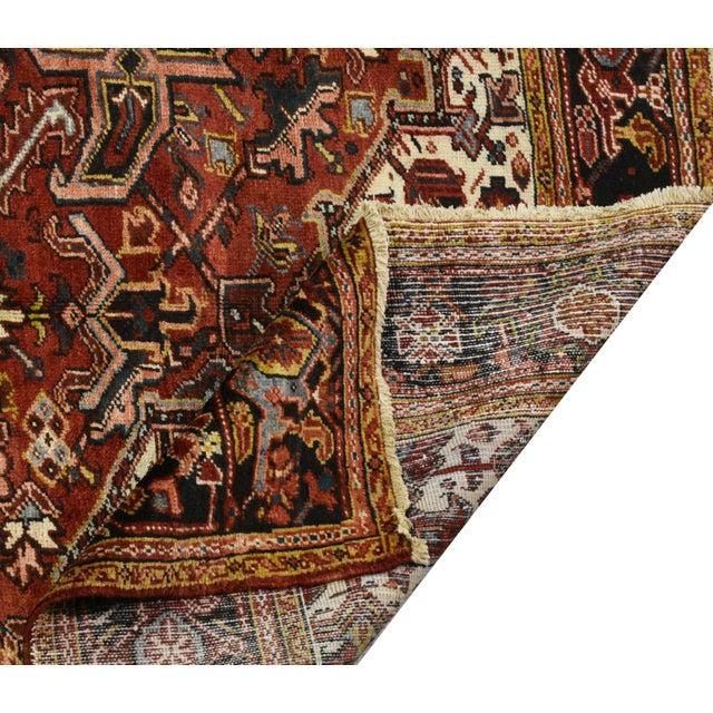 Vintage Persian Heriz Rug - 9'3'' x 12'2'' - Image 4 of 4