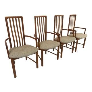 Vintage Boltinge Teak Dining Armchairs - Set of 4 For Sale
