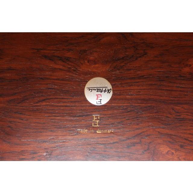 Finn Juhl Rosewood Executive Desk For Sale - Image 11 of 13