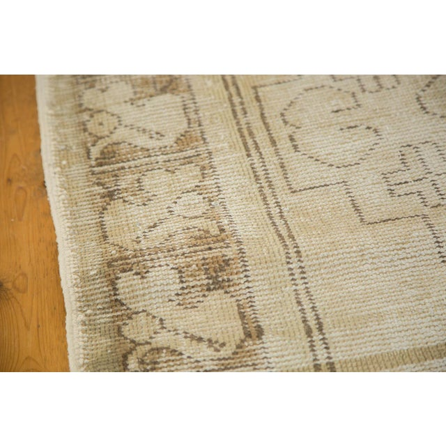 "Vintage Distressed Oushak Rug Runner - 3'1"" x 6'8"" - Image 5 of 9"