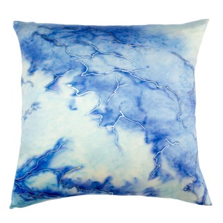 Glacier 2 Silk Pillow For Sale