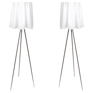Rosy Angelis Floor Lamps by Philippe Starck - a Pair For Sale