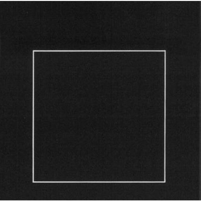 Bauhaus Josef Albers Homage to the Square Serigraph/Silkscreen Print Framed, 1968 For Sale - Image 3 of 3