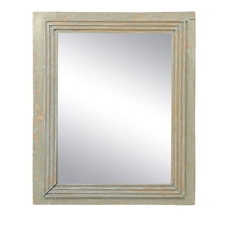 French Painted Mirror For Sale