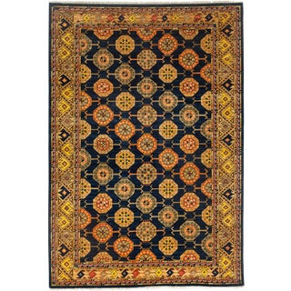 """Ziegler Hand Knotted Area Rug - 5'8"""" X 8'3"""" For Sale"""