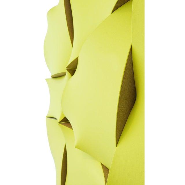 "Jan Maarten Voskuil ""Non-Fit Broken Light Yellow"" Acrylics on Linen, 2017 For Sale In Los Angeles - Image 6 of 10"