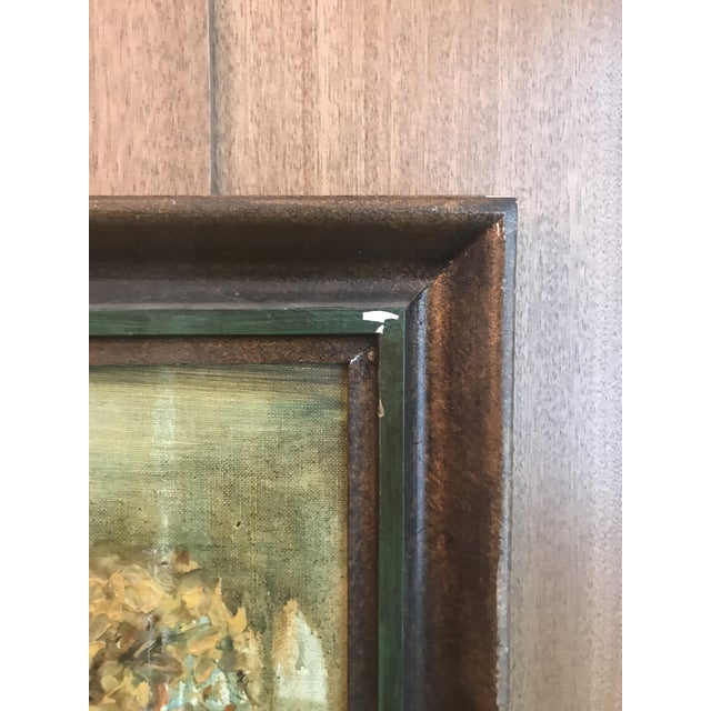 Vintage Framed Oil Painting of a Tree, Signed For Sale - Image 5 of 8