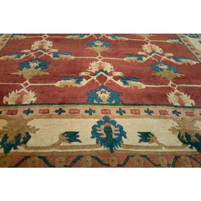 Arts & Crafts Mansour Fine Quality Tibetan Rug - 8′ × 9′ For Sale - Image 3 of 5