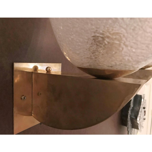 Italian Art Deco Fabio Ltd Sconce For Sale In Palm Springs - Image 6 of 8