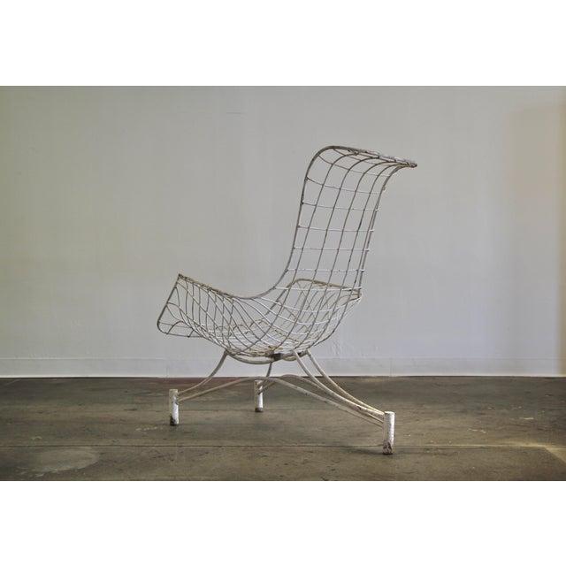 Mid-Century Modern 1950s Vintage Vladimir Kagan Capricorn Lounge Chair For Sale - Image 3 of 12
