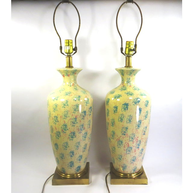 Tyndale Chicago Boudoir Table Lamps, 1980s - Pair - Image 7 of 8