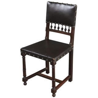Dining Chairs Henry II Renaissance Walnut Brown - Set of 6 Preview