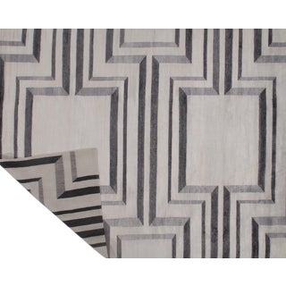 Pasargad N Y Modern Bamboo Silk Hand Knotted Area Rug - 7′11″ × 10′3″ For Sale