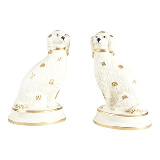Chelsea House Inc Spaniel Figurines - a Pair For Sale