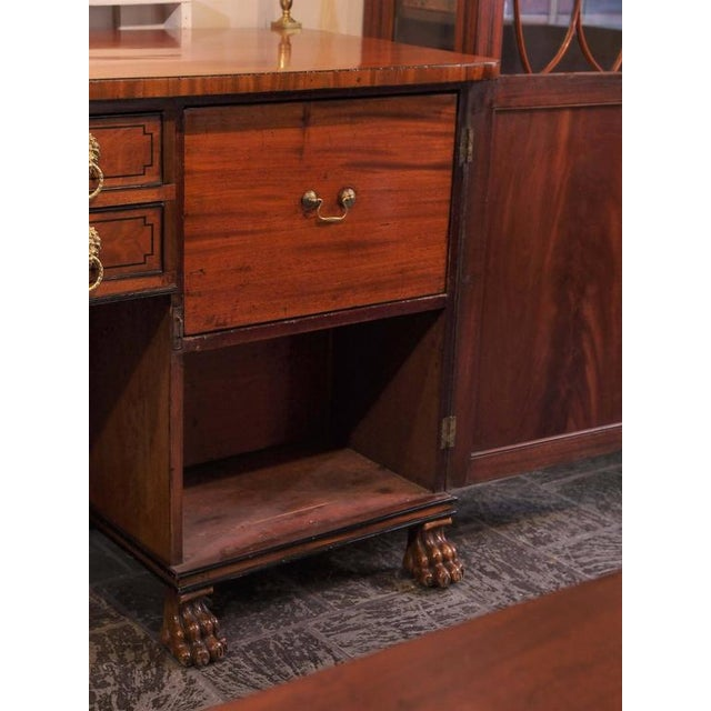 Antique English Sideboard For Sale In New Orleans - Image 6 of 10