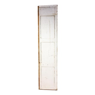 Vintage Shabby Wood 3 Panel Door
