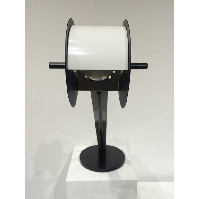 Ettore Sottsass Pair of Memphis Post Modern Lamps Attributed to Ettore Sottsass For Sale - Image 4 of 7