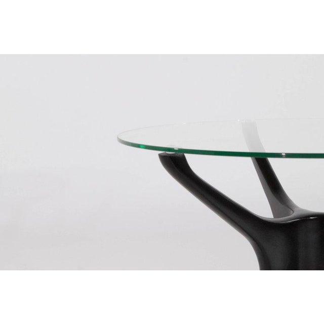 Kagan-Dreyfuss, Inc. 1950s Vladimir Kagan Walnut Trisymmetric End Tables - a Pair For Sale - Image 4 of 10