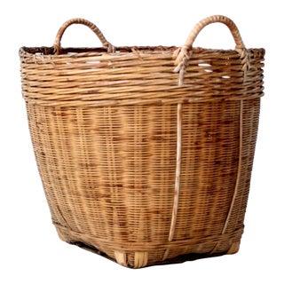 Vintage Double Handle Basket