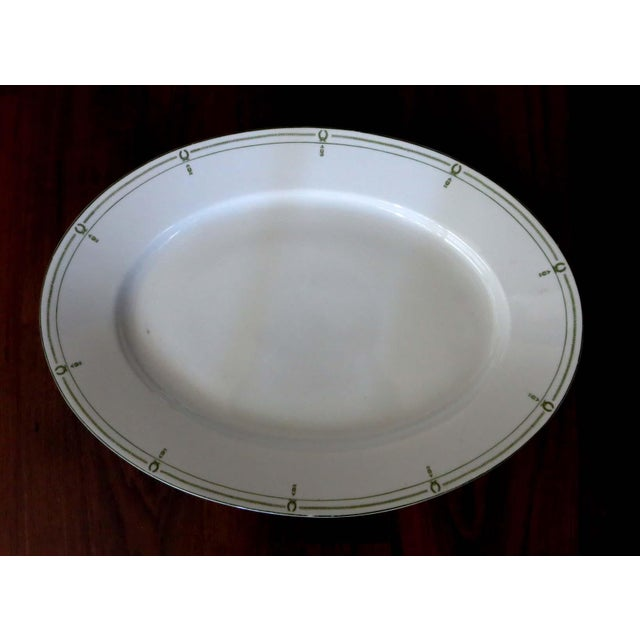 """This elegant oval serving platter is big enough to serve an entire turkey with sides. It measures 20"""" long by 14"""" wide...."""