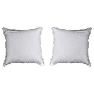"Antique French Linen ""Pr"" Pillows - a Pair For Sale"