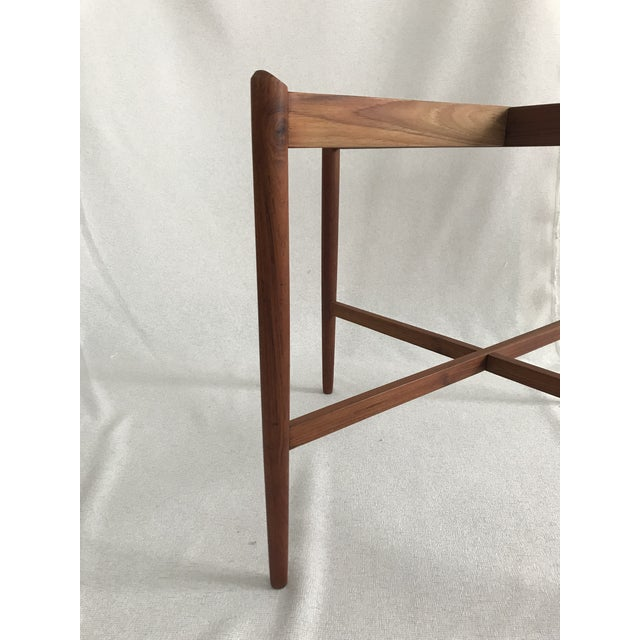 1960s Danish Modern Teak Tray/Side Table For Sale - Image 6 of 9