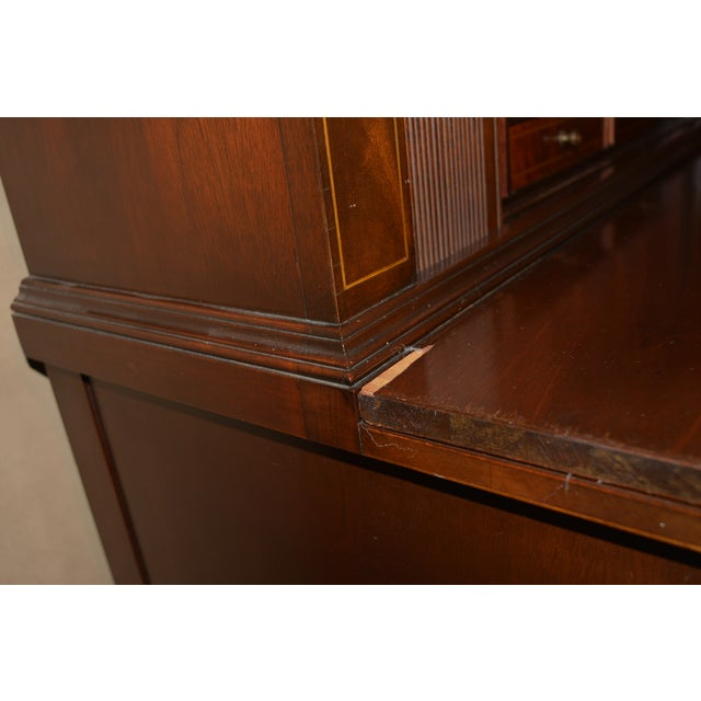 Antique Federal Style Mahogany Secretary For Sale - Image 10 of 12