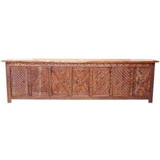 Handcarved Coromandel Buffet Sideboard