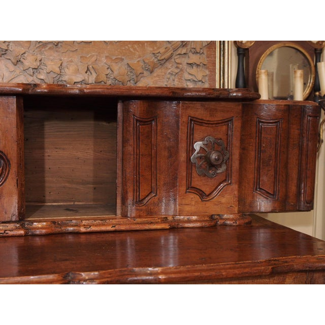 Early 18th Century Early 18th century French Carved Walnut Buffet For Sale - Image 5 of 11