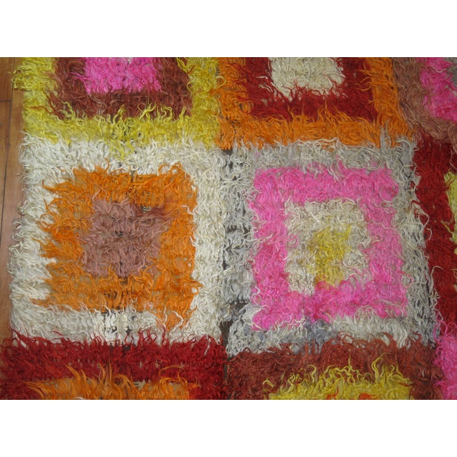 Textile Tulu Flotaki , 6'2'' X 8'6'' For Sale - Image 7 of 8