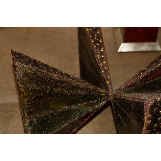 Paul Evans Brutalist Steel Coffee Table For Sale - Image 11 of 13
