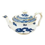 Image of 1930s Booth's Chinoiserie Dragon Gilt Teapot For Sale
