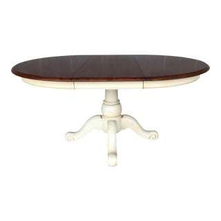 Ethan Allen Country Crossings Extension Dining Table