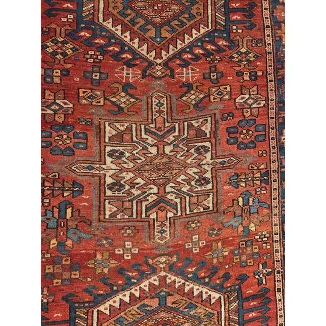 "Vintage Persian Karajeh Runner - 3'1"" x 11'6"" - Image 10 of 10"